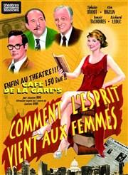 Comment l'esprit vient aux femmes Café de la Gare Affiche