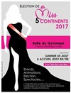 Election Miss 5 Continents - Le Gymnase